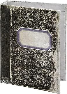 Tim Holtz Notebook Worn Binder Idea-Ology, 2-Ring, 5 x 7 x 1 Inches, Black/White (TH93588)