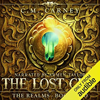 The Lost City: An Epic LitRPG Adventure: The Realms Series, Book Two