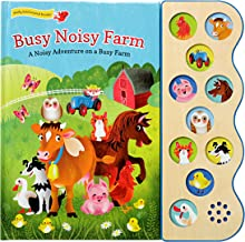 Busy Noisy Farm: Interactive Children's Sound Book (10 Button Sound) (Early Bird Sound 10b)