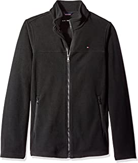 Tommy Hilfiger Men's Size Tall Classic Zip Front Fleece Jacket