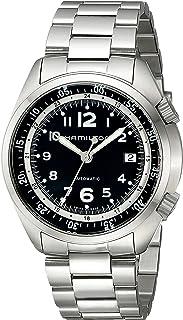 Hamilton - Reloj Analógico para Hombre de Automático con Correa en Acero Inoxidable H76455133