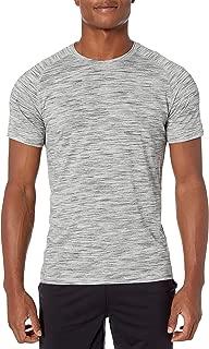 Peak Velocity Amazon Brand Men's Merino Wool Jersey Short Sleeve Crew Neck Tee