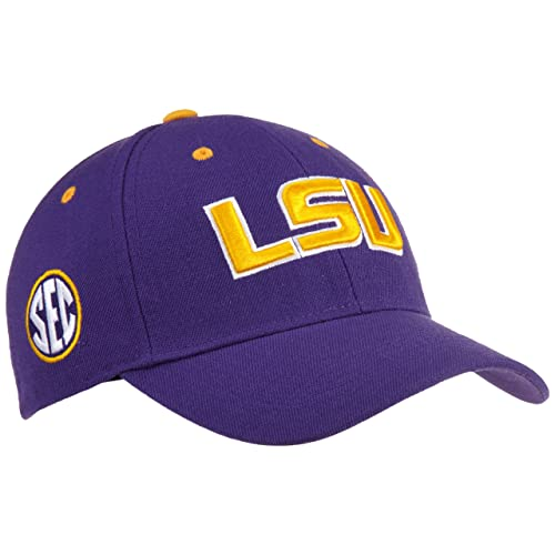 f487ee75308 Louisiana State Adult Adjustable Triple Conference Hat