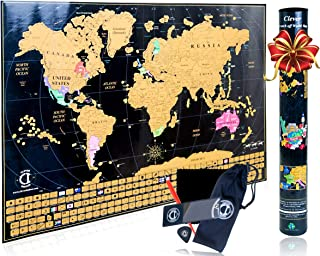 Best bright world map Reviews
