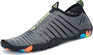 Mens Womens Water Shoes Quick Dry Barefoot for Swim...