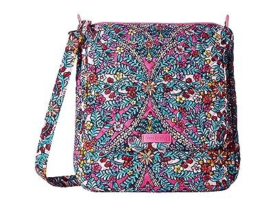 Vera Bradley Carson Mailbag (Kaleidoscope) Bags