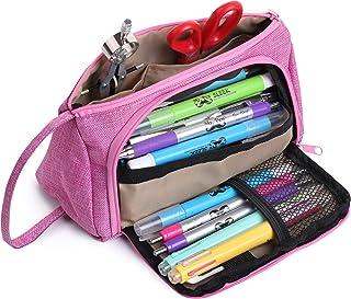 Mr. Pen- Pink Pencil Case, School Supplies, Pencil Pouch, Pen Bag, Pencil Case Organizer, Pencil Pouch Large, Large Pencil...