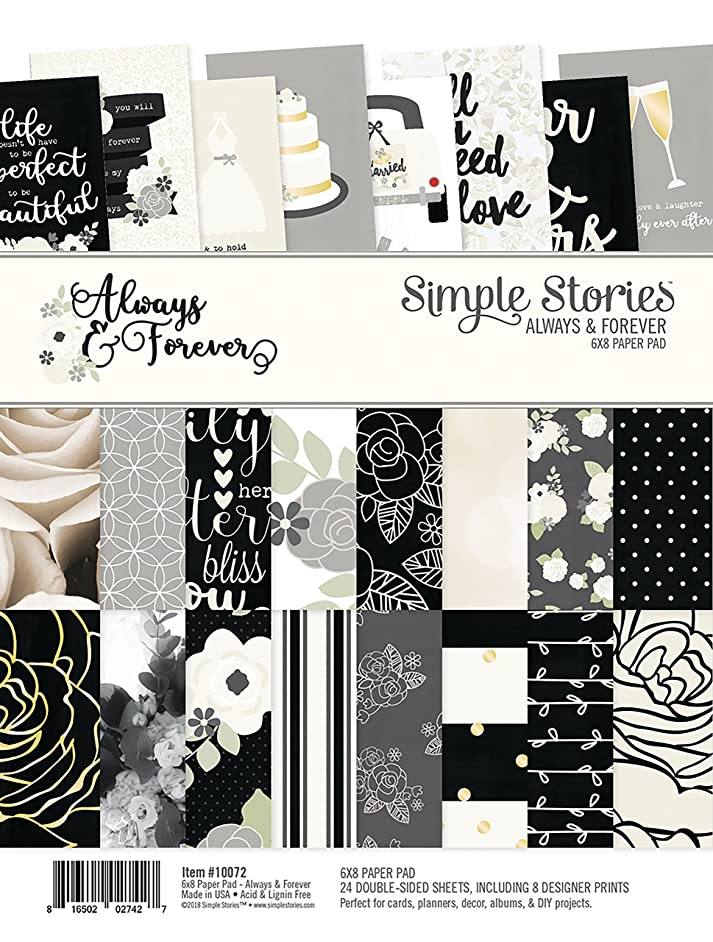 Simple Stories Always & Forever 6x8 Paper Pad