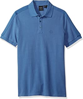 Armani Exchange Men's 8NZF77 Polos, Blue (Blue Horizon)