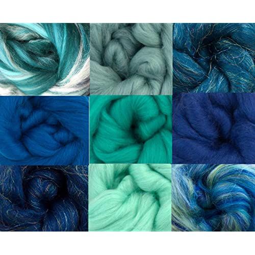 8ba2108c09f Merino Wool Tops - Ocean Pack of 9