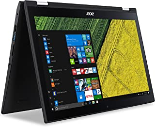 ACER SPIN 3 SP315-51-599E 2-in-1 CONVERTIBLE LAPTOP, 15.6 INCH FULL HD TOUCH, INTEL CORE i5-7200U 2.5GHz, 12GB RAM, 1TB HDD, VGA INTEL HD GRAPHICS 620, BLUETOOTH 4.0, HD WEBCAM, WINDOWS 10 HOME, BLACK