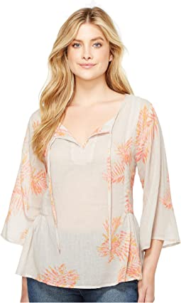 Palms Billowy Blouse