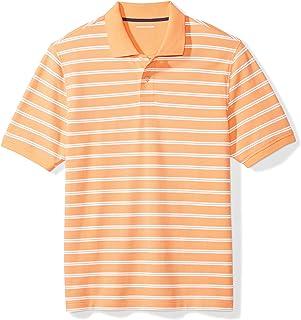 Men's Regular-fit Cotton Pique Polo Shirt