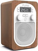 Pure Evoke H2 Portable FM/DAB+/DAB Digital Radio, DAB Radio with Alarms, 20 Pre-sets, AUX Input and Kitchen and Sleep Time...