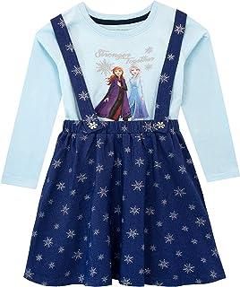 Disney Vestido y Top de Delantal para niñas El Reino del Hielo Frozen
