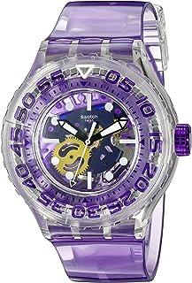 Swatch Men's SUUK106 Berry-Tini Year-Round Analog Quartz Purple Watch