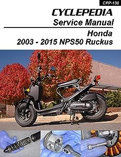 2003-2011 Honda NPS50 Ruckus Scooters Service Manual