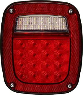 Grote G5082-5 Hi Count LED Stop Tail Turn Light (RH without Sidemarker), Red