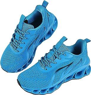 MOSHA BELLE Boys Girls Shoes Running Sneakers Kids Mesh Lightweight Tennis Walking Shoe