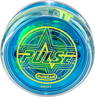 Duncan Toys Pulse LED Light-Up Yo-Yo, Intermediate Level Yo-Yo with Ball Bearing Axle and..