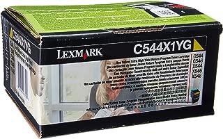 Lexmark C544/X544 C544X1YG Extra High Yield Return Program Toner Cartridge (Yellow)