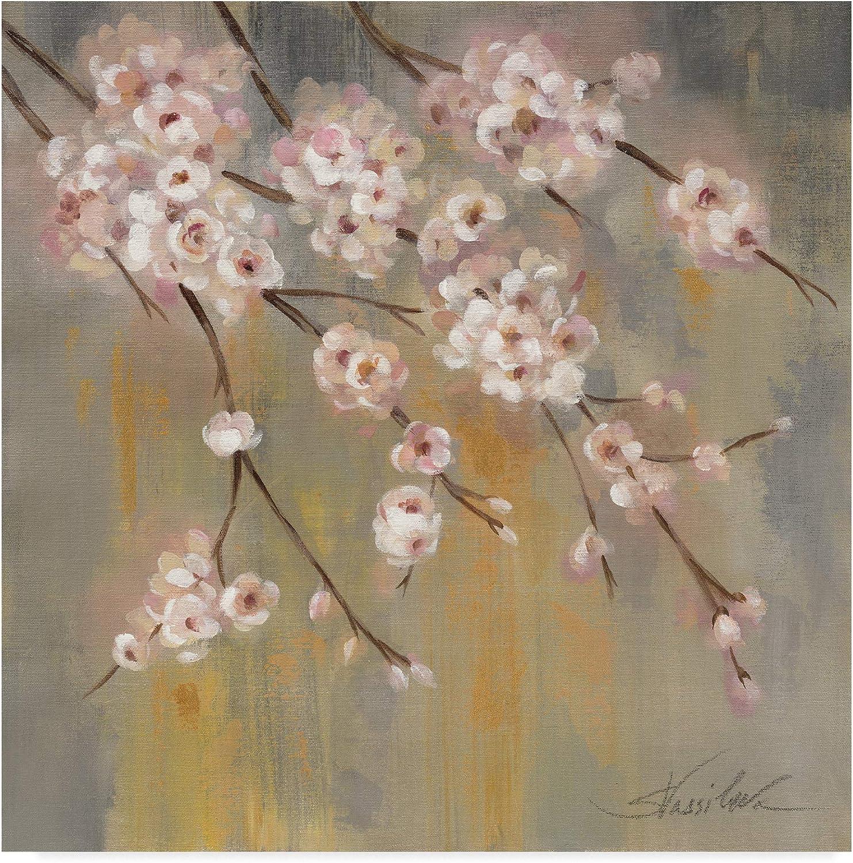 Trademark Fine Art Cherry Cloud II by Silvia Vassileva, 14x14 Fine Art, Multicolor
