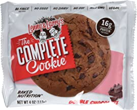Lenny Larry s The Complete Cookie Double Chocolate Cookies – Pack of 12 Estimated Price : £ 27,50