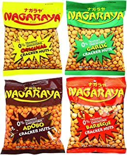 Nagaraya Cracker Nuts (Assorted, 4 Flavors)