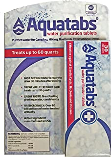 MSR Aquatabs Purification Tablets