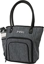 Fit & Fresh Jaxx FitPak Commuter Meal Prep Bag with Portion Control Containers & 24 oz Shaker Bottle