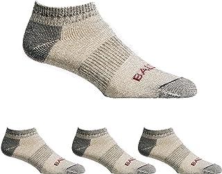 Ballston Lightweight 81% Merino Wool All Season Low Hiking Socks - 4 Pairs for Men and Women