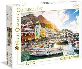 Clementoni Adult Puzzle The Capri, Multi-Colour, 1500 Pieces