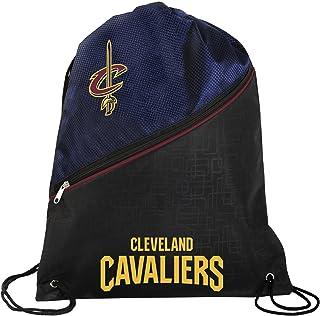 c0cb9881fb92 Cleveland Cavaliers Official NBA High End Diagonal Zipper Drawstring  Backpack Gym Bag