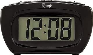 Equity by La Crosse 31015 Digital LCD Alarm Clock with Blue Display