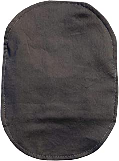 Ostomy Bag Cover Charcoal, 3.25 inch Opening