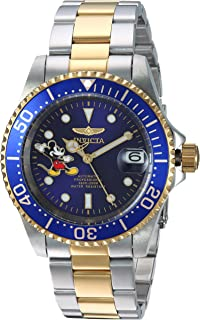 Invicta Men's Automatic-self-Wind Watch with Two-Tone-Stainless-Steel Strap, 20 (Model: 24754)