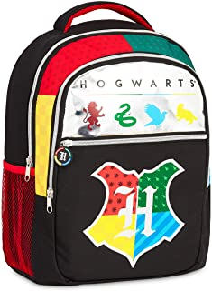 Harry Potter Mochilas Escolares, Material Escolar para Niños, Mochila Infantil Hogwarts para Colegio Viajes, Harry Potter Merchandising Regalos para Niños Niñas y Adolescentes