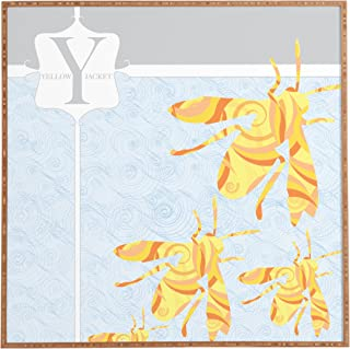 Deny Designs Jennifer Hill, Mister Yellow Jacket, Framed Wall Art, Small, 12