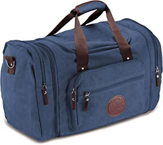 KMD Aero Deluxe Canvas Flight Bag Travel Duffel Durable Tote Bags for Pilots & Weekend Trips