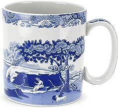 Spode Blue Italian Mug, Set of 4