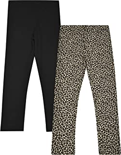 Dream Star Girls 2-Pack Fleece-Lined Leggings