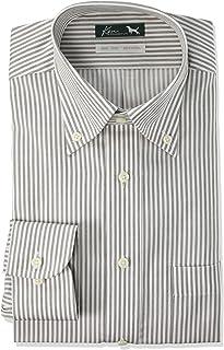 [フレックスジャパン] ワイシャツ ケンコレクション 綿100% 形態安定 長袖 DAKK79 メンズ