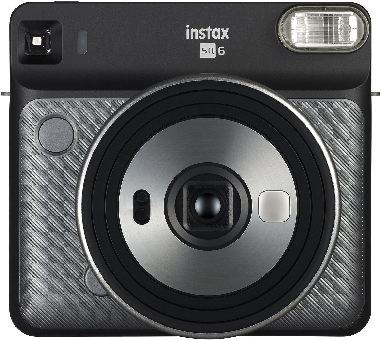 Fujifilm Instax Square Import Today's only SQ6 - Graphite Camera Grey Film Instant