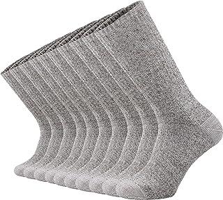ONKE Cotton Moisture Wicking Work Training Cushion Crew Socks Men Pack