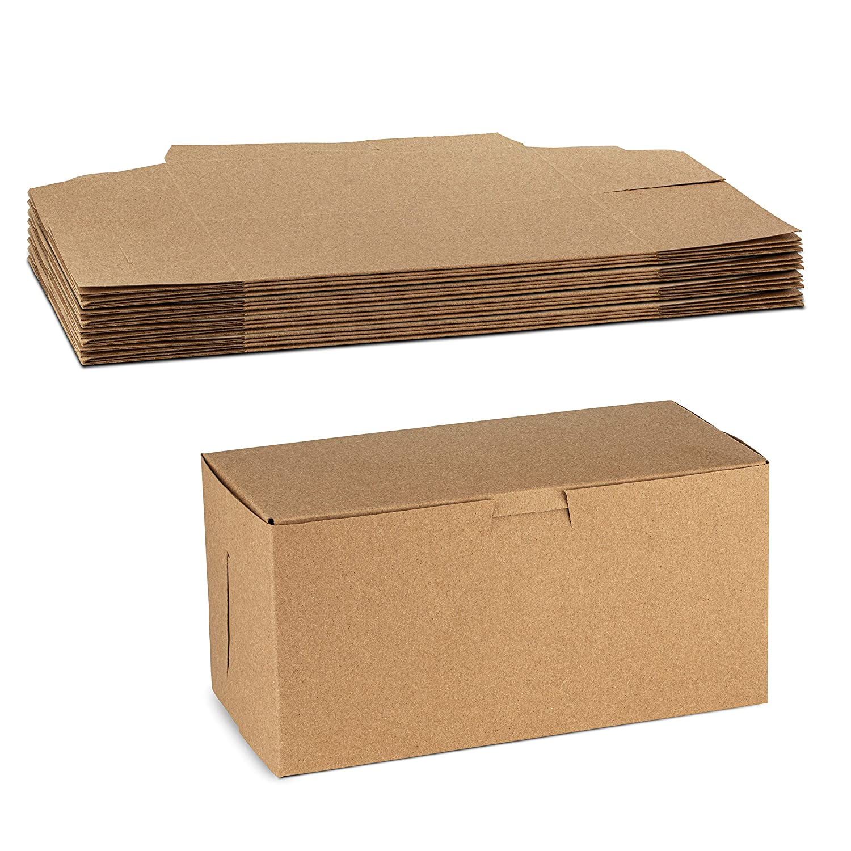 Beautiful Kraft Paperboard Pastry Box 8