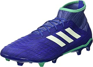 Adidas Performance Mens Predator 18.2 Firm Ground Football Soccer Boots - Blue