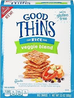 Good Thins Gluten Free Veggie Blend Rice Crackers 3.5 oz