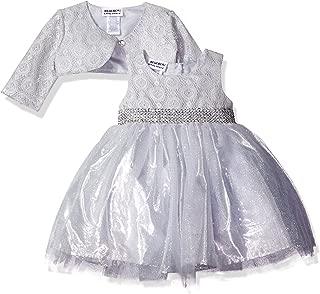 Baby Girls' Sparkle Jacket Dress