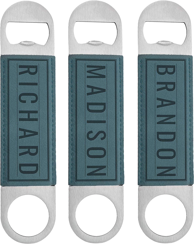Groomsmen SALENEW very popular! Gifts Set of 3 Personalized 10 Finally popular brand Openers Desi Bottle -