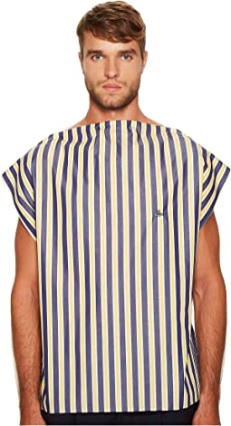Vivienne Westwood - Jersey/Poplin Square T-Shirt
